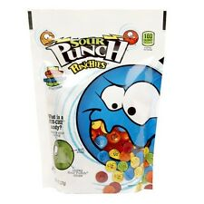 Sour Punch Punchies Stand Up Bag Sweet & Sour Pun Chi Face 8 oz - 6 Pack New