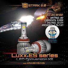 Stark 80W 9000LM Flip COB Chip LED Kit 6000K 6K Headlight Bulbs - H11 (E)