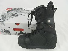 NEW! $250 Burton Hail Snowboard Boots! US 7, UK 6, Mondo 25, Euro 40  BLACK