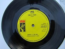 BOOKER T & THE MG'S TIME IS TIGHT / SOUL LIMBO stax 2014 ... Northern soul 45rpm