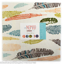 """Moda FABRIC Layer Cake ~ NOMAD ~ by Urban Chiks  42 - 10"""" squares"""