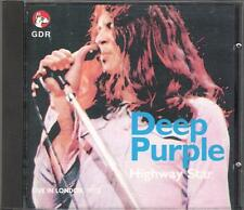"DEEP PURPLE - RARO CD ITALY ONLY PROMO 1989 "" HIGHWAY STAR """