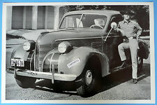 """12 By 18"""" Black & White Picture 1939 Pontiac Eight Coupe 8"""