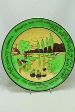 YE OLDE ENGLISH PLATE W/  FROGS & RABBITS C. 1920