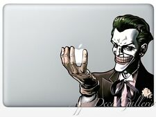 Batman Joker Decal Sticker Skin Stickers for Macbook Pro Air 13 15 17 inch JK