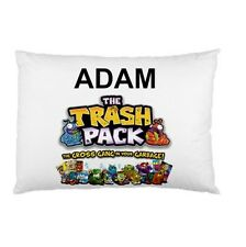 THE TRASH PACK Personalized childrens kids BED pillow case