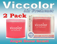 2Pack Diax Viccolor ANGEL SNOW Air Freshener JDM Car Home Office ,Made In JAPAN