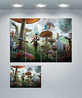 Alice In Wonderland Johnny Depp Mad Hatter Giant Wall Art poster Print