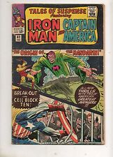 Tales of Suspense #61, 62 ORIGIN The MANDARIN! VG 4.0 Captain America, Iron Man!
