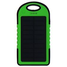 5000mAh Slim USB Portable Solar Battery Charger Power Bank For iPhone Cell Phone
