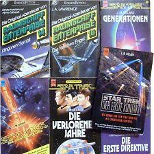 Bücherset - 7  Bücher Star Trek (TM)