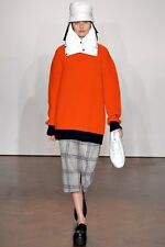 Runway Piece: J W Anderson AW12 Orange/Navy Oversized Fisherman Sweater UK4-8