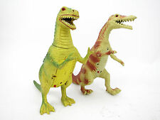 Vintage 1990s Imperial Tyrannosaurus T Rex Dinosaur Toy Battery Operated Figures