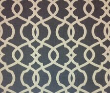 "MAGNOLIA HOME EMORY PEWTER GRAY TRELLIS FURNITURE FABRIC BY THE YARD 54""W"