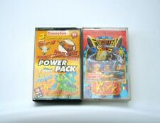 COMMODORE C64 GAMES Power Pack contains 3 Games + Another + Vintage Retro Games