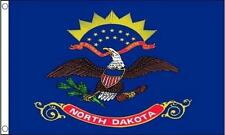 North Dakota State 5'x3' Flag America American US USA