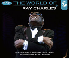 The World Of Ray Charles Songs 2 CD 1950s Music