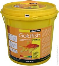 Aqua One A1-26002 Goldfish Flakes 1Kg Bulk Bucket for aquarium fish