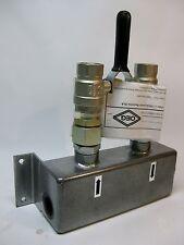 """GLAK 3/4"""" OEG Gas-/Luftabscheider mit Kugelhahnabsp. für Ölheizung 120590412 NEU"""