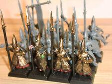 High Elves Army - Warhammer High Elf Spearmen x 16