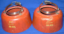 Good Pair Eimac SK906 Chimneys for 4CX500A and 4X500A tubes