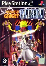 Jeu PS2  Inspecteur Gadget : L'invasion des robots MAD - Playsation 2