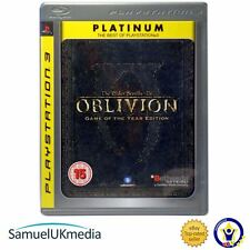 The Elder Scrolls IV: Oblivion Game Of The Year Platinum (PS3) *GREAT CONDITION*