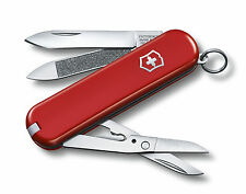 0.6423 Victorinox Swiss Army Knife Wenger Delemont Executive 81 Red 65mm 06423