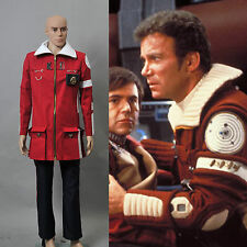 Star Trek II The Wrath of Khan Admiral Kirk Field Coat Pants Costume*Tailored*