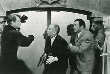 LOUIS DE FUNES JEAN MARAIS FANTÔMAS CONTRE SCOTLAND YARD 1967 VINTAGE PHOTO TV 1