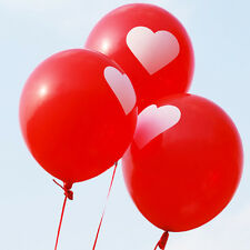 25pcs Red Love Heart Balloons For Wedding Engagement Marriage Proposal Decor
