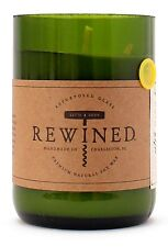 REWINED Soy Candle in Recycled Wine Bottles - Pinot Noir