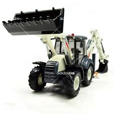 1:50 Bidirectional Excavator Construction Equipment Diecast Model Car By KDW