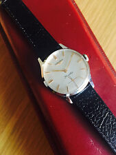 Vintage Longines Flagship Watch, Mechanical Cal 490, Stainless Steel, 1960s