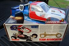 Vintage painted body Team Associated Rc10T box art