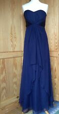 COAST BNWT Midnight Blue Silk Maxi Dress Size 8