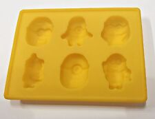 Minions Silicone Mould Kids Birthday Cake Party Decoration 6 Cavity Icing Minion