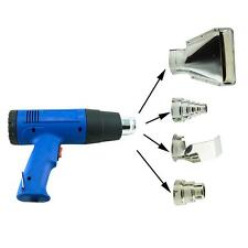Heat Gun Hot Air Gun Dual Temperature + 4 Nozzles Power Tool 1500W  Heater Gun