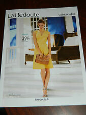 la redoute CATALOGUE de MODE d'habillement COLLECTION ETE 2014