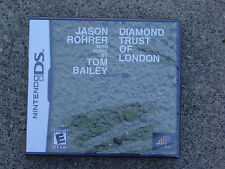 Diamond Trust of London - Regular Edition - Nintendo DS - Brand New