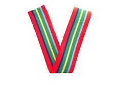 Pacific Star Medal Ribbon - 1 x Meter ** CLEARANCE **