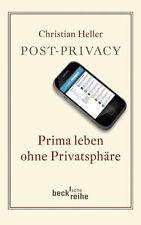 Post Privacy von Christian Heller, UNGELESEN