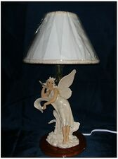 Fairy Standing and Leaning to Flower Leaf Lamp Night Light ( Last 2 only!)