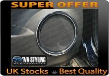NISSAN QASHQAI 2014-ON CHROME INTERIOR DOOR SPEAKER SURROUNDS TRIMS UK SUPPLIER