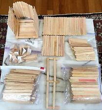 LOT of 500+ VINTAGE POPCYCLE ICE CREAM STICKS! USE FOR CRAFTS TO BUILD LAMPS Etc