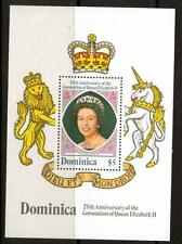 DOMINICA SGMS615 1978 CORONATION  MNH