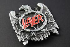 Slayer Metal Hebilla de Cinturón Águila Calavera Heavy Metal Thrash Metal