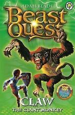 Claw the Giant Monkey: Series 2 Book 2 (Beast Quest) by Adam Blade - PB