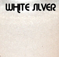 WHITE SILVER PEARL POWDER PIGMENT 56G / 2OZ CUSTOM PAINT EFFECT