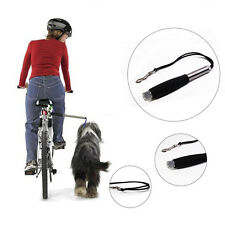 Retractable Dog Pet Leash for Bicycle Exerciser Hands Free Distance Keeper